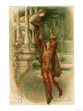 Romeo and Juliet, Act II Scene II: The Famous Balcony Scene Giclee Print