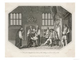 Henry VIII is Presented with Cranmer's Bible, The First English Translation Giclee Print