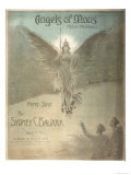 The Angels of Mons, Music Inspired by the Rumour of Angelic Intervention in the Fighting Giclee Print