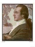 Johann Wolfgang Von Goethe German Poet Giclee Print