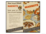 Marmite Serving Suggestions | RM.