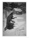 Werewolf Returning Home Giclée-Druck von S.h. Vedder