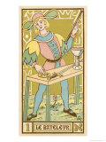 Tarot: 1 Le Bateleur, The Juggler Giclee Print by Oswald Wirth