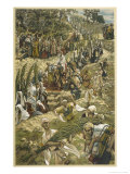Jesus Enters Jerusalem on Palm Sunday Giclee Print by James Tissot