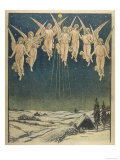 Angels Hovering Over the Swedish Countryside Giclee Print