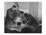 In Their Laboratory Paris Giclee Print