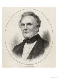 Charles Babbage Mathematician and Engineer Giclee Print