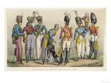 Cavalrymen Not on Horseback Giclee Print