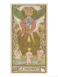 Tarot: 20 Le Jugement, The Judgment Giclee Print by Oswald Wirth