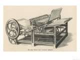Hoe&#39;s Railway Printing Machine Giclee Print