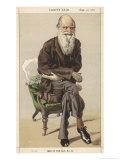 Charles Darwin Naturalist Giclee Print by  Spy (Leslie M. Ward)