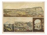 Destruction of the Towns of Arica and Arequipa by Earthquake Peru Giclée-Druck von Ferdinand Von Hochstetter