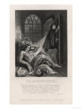 Frankenstein Frontispiece from Mary Shelley's Novel Giclee Print