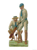 Batsmen and Wicketkeeper Giclee Print