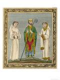 Ecclesiastics Giclee Print by Joseph Strutt