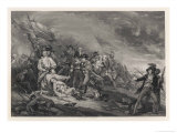 Battle of Bunker Hill Giclee Print by John Trumbull