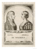 Isotta Nogarola, with Sister Angela: Italian Classical Scholar Giclee Print