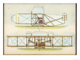 The Wright Flyer I in Which the First Powered Flight is Made at Kill Devil Hills North Carolina Giclee Print