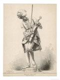 Wolfgang Amadeus Mozart Austrian Musician as a Boy, Giclee Print