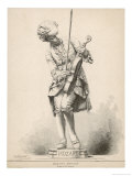 Wolfgang Amadeus Mozart Austrian Musician as a Boy Giclee Print by Jules Tavel