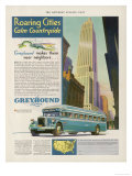 Take the Greyhound Lines to New York Giclee Print