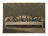 Jesus' Last Supper with His Disciples Giclee Print by Thouvenin