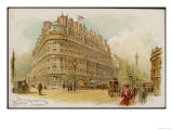 The Metropole Hotel Northumberland Avenue Exterior View Giclee Print