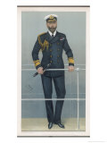 Prince Louis Alexander of Battenberg in Naval Dress Premium Giclee Print by  Spy (Leslie M. Ward)