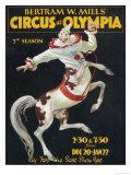 Bertram Mills Circus Lámina giclée