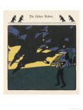 The Father Prays While the Ravens (Recently His Sons) Fly Overhead Giclee Print by A Weisgerber