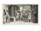 Slaves Working in a Sugar Mill Jamaica West Indies Giclee Print