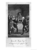 Granville Sharp Defends the Rights of Black Slaves Giclee Print by Asa Coolidge Warren