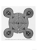 Circular Maze with Protuberances Formerly Existing Near Saint Anne's Well Sneinton Nottinghamshire Giclee Print