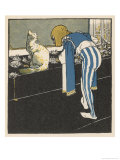 The King's Herald Asked the Cat to Leave the Palace Giclee Print by A Weisgerber