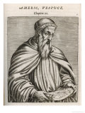 Portrait of Amerigo Vespucci, Giclee Print