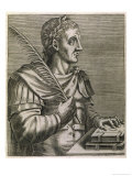 Justinian I the Most Brilliant of the Byzantine Emperors Giclee Print by Andre Thevet