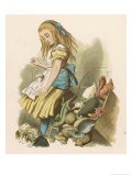Alice and the Jury Giclee Print by John Tenniel