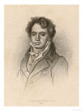 Ludwig Van Beethoven German Composer Portrait in 1814 Giclee Print