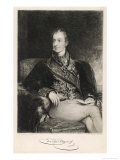 Clemens Lothar Wenzel Prince Metternich Austrian Statesman Giclee Print by W. Unger