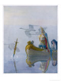 Excalibur Acquired Giclee Print by Newell Convers Wyeth