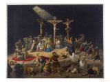 The Crucifixion of Jesus Enables the Resurrection of the Dead Giclee Print
