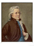 Wolfgang Amadeus Mozart Austrian Composer Giclee Print by Tischbein 