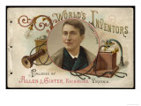 Thomas Alva Edison American Inventor Giclee Print