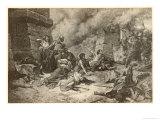 Romans in Spain Scipio Giclée-Druck von Claudia Vera