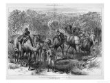 Ernest Giles Leads a Series of Journeys into Central and West Australia Giclee Print by Jesse Young
