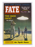 UFO Seen by Ray Stanford at Padre Island Texas Usa Giclée-tryk