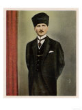Kemal Ataturk, Military Reformer and Founder of Turkish State Giclee Print