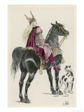 Brunhilde Frankish Giclee Print by L. Vallet