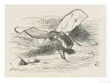 The Bread-And-Butter Fly Giclee Print by John Tenniel