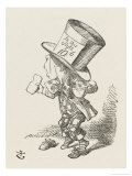 The Hatter Giclee Print by John Tenniel